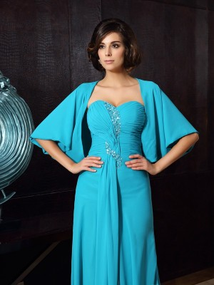 Stylish Chiffon 1/2 Sleeves Special Occasion Wrap