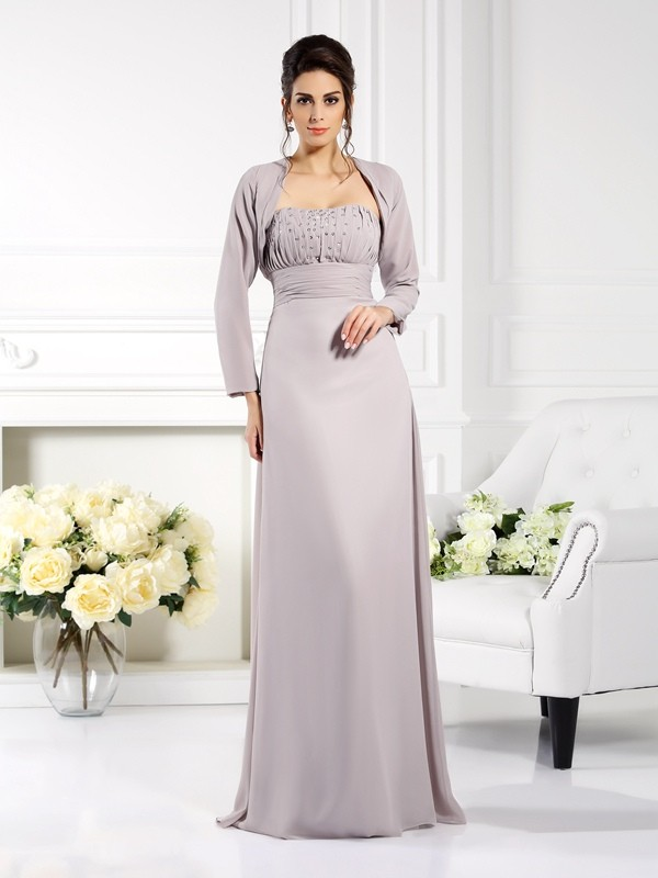 Stylish Chiffon Long Sleeves Special Occasion Wrap