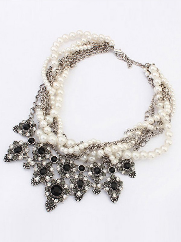 Stylish Occident Major suit Personality Hyperbolic Necklace
