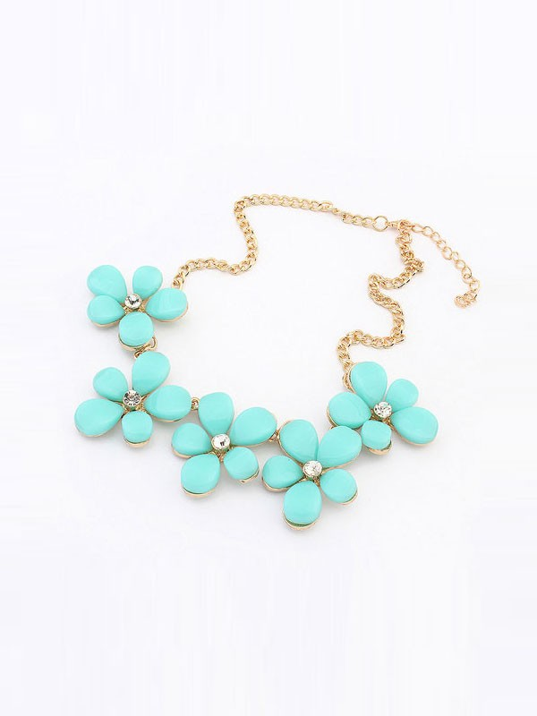 Gorgeous Occident Fresh Floret Sweet Necklace