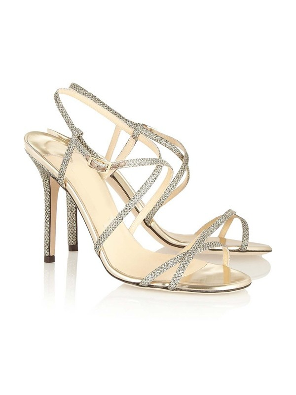 Hot Sale Women Peep Toe Stiletto Heel Buckle Sandals Shoes