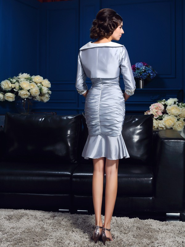 Stylish Taffeta 1/2 Sleeves Special Occasion Wrap