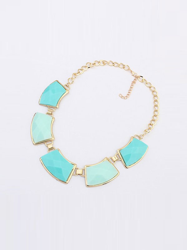 Gorgeous Occident All-match Geometry Necklace