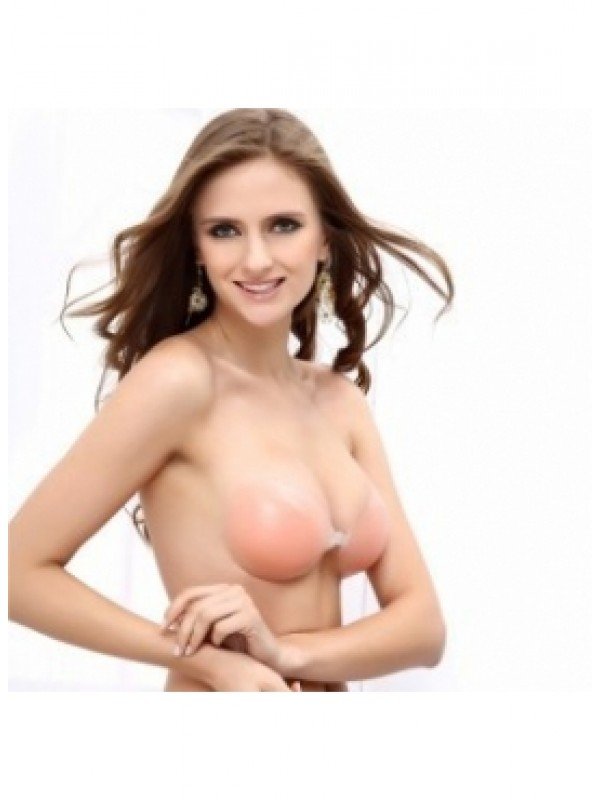 Elegant Silicone 3/4 Cup Strapless Invisible Wedding Party Bra