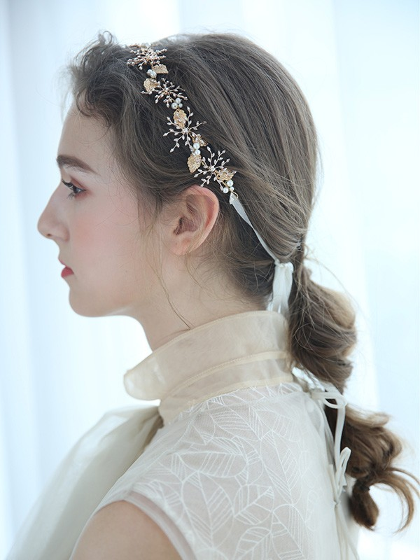 Amazing Imitation pearls Headpiece